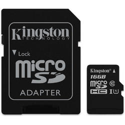 Canvas Select Micro SDHC, 16GB, Clasa 10, UHS-I U1 + Adaptor SD