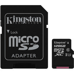 Canvas Select Micro SDXC, 128GB, Clasa 10, UHS-I U1 + Adaptor SD