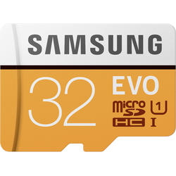 EVO (Model 2017) Micro SDHC, 32GB, Clasa 10, UHS-I U1 + Adaptor SD