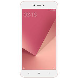Redmi Note 5A, Dual SIM, 5.5'' IPS LCD Multitouch, Quad Core 1.4GHz, 2GB RAM, 16GB, 13MP, 4G, Rose Gold