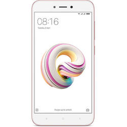 Redmi 5A, Dual SIM, 5.0'' IPS LCD Multitouch, Quad Core 1.4GHz, 2GB RAM, 16GB, 13MP, 4G, Rose Gold