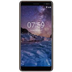 Nokia 7 Plus, Dual SIM, 6.0'' IPS LCD Multitouch, Octa Core 2.2GHz + 1.8GHz, 4GB RAM, 64GB, Dual 12MP + 13MP, 4G, Black/Copper