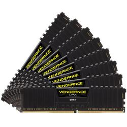 Vengeance LPX Black, 64GB, DDR4, 3600MHz, CL18, 1.35V, Kit x 8
