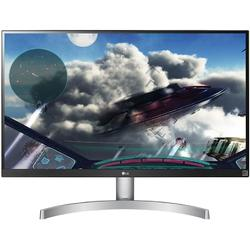 27UK600-W, 27.0'' 4K UHD, 5ms, Alb/Argintiu