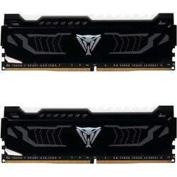 Viper LED White, 16GB, DDR4, 3200MHz, CL16, 1.35V, Kit Dual Channel