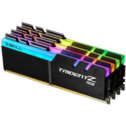 Trident Z RGB, 64GB, DDR4, 3600MHz, CL17, 1.35V, Kit Quad Channel