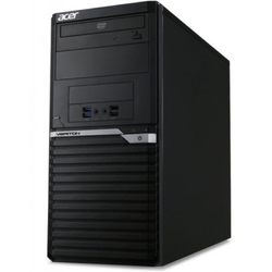 Veriton VM6650G, Core i5-7400 3.0GHz, 4GB DDR4, 1TB HDD, Intel HD 630, Win 10 Pro 64bit, Negru