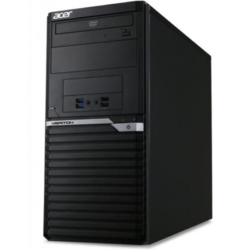 Veriton VM6650G, Core i3-7100 3.9GHz, 4GB DDR4, 1TB HDD, Intel HD 630, FreeDOS, Negru