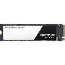 Black, 500GB, PCI Express 3.0 x4, M.2 2280
