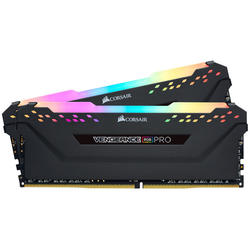 Vengeance RGB PRO, 16GB, DDR4, 2666MHz, CL16, 1.2V, Kit Dual Channel