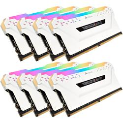 Vengeance RGB PRO, 64GB, DDR4, 3600MHz, CL18, 1.35V, Kit x 8, Alb