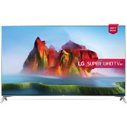 Smart TV 55SJ800V, 139cm, 4K UHD, Argintiu