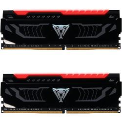 Viper LED Red, 16GB, DDR4, 2666MHz, CL15, 1.2V, Kit Dual Channel