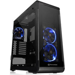 View 32 Tempered Glass RGB, MiddleTower, Fara sursa, Negru
