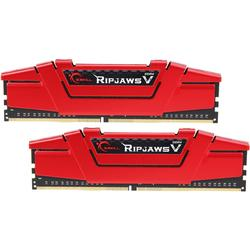 Ripjaws V Red, 16GB, DDR4, 3600MHz, CL19, 1.35V, Kit Dual Channel