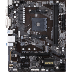 GA-AB350M-D3V, Socket AM4, mATX