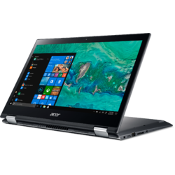 "Spin 3 SP314-51-33LH, 14"" FHD Touch, Core i3-8130U pana la 3.4GHz, 4GB DDR4, 1TB HDD + 16GB SSHD, Intel UHD 620, Windows 10 Home, Steel Gray"