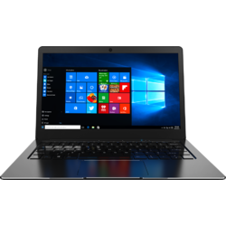 "Aerial, 13.3"" FHD, Celeron N3350 pana la 2.4GHz, 4GB DDR3, 32GB eMMC, Intel HD 500, Windows 10 Home, Negru"