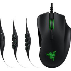 Naga Trinity, USB, Optic, 16000dpi, Negru