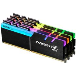 Trident Z RGB, 64GB, DDR4, 3200MHz, CL16, 1.35V, Kit Quad Channel