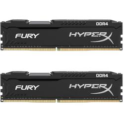 HyperX Fury Black, 16GB, DDR4, 3200MHz, CL18, Kit Dual Channel