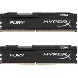 HyperX Fury Black, 32GB, DDR4, 3200MHz, CL18, Kit Dual Channel