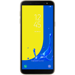 Galaxy J6 (2018), Dual SIM, 5.6'' Super AMOLED Multitouch, Octa Core 1.6GHz, 3GB RAM, 32GB, 13MP, 4G, Gold