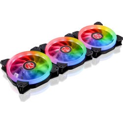 IRIS 12 Rainbow RGB LED, 120mm, 3 Fan Pack