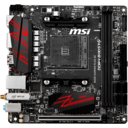 B450i Gaming Plus AC, Socket AM4, mITX