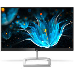 276E9QSB/00, 27.0'' Full HD, 5ms, Negru/Argintiu