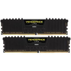 Vengeance LPX Black, 16GB, DDR4, 3000MHz, CL16, 1.35V, Kit Dual Channel