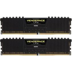 Vengeance LPX Black, 32GB, DDR4, 3000MHz, CL16, 1.35V, Kit Dual Channel