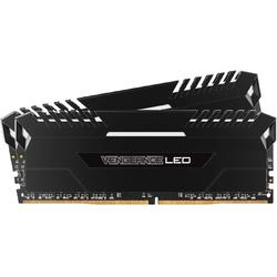 Vengeance White LED, 16GB, DDR4, 3333MHz, CL16, 1.35V, Kit Dual Channel