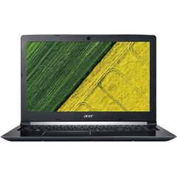 Aspire A515-51G-75UB, 15.6'' FHD, Core i7-7500U 2.7GHz, 4GB DDR4, 256GB SSD, GeForce MX130 2GB, Linux, Negru