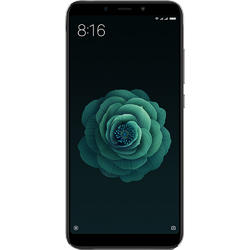 Mi A2 Dual SIM, 5.99 inch IPS, 64GB, 4GB RAM Tri camera 12+20+20 MPixeli Android One, Black