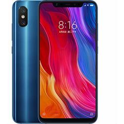 Mi 8, Dual SIM, 6.21'' Super AMOLED, Octa Core 2.8GHz + 1.8GHz, 6GB RAM, 64GB, Tri camera 20MP +  12MP + 12MP, 4G, Blue