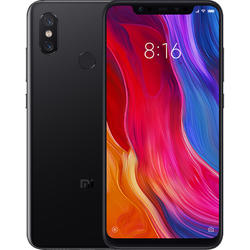Mi 8, Dual SIM, 6.21'' Super AMOLED, Octa Core 2.8GHz + 1.8GHz, 6GB RAM, 128GB, Tri camera 20MP + 12MP + 12MP, 4G, Black