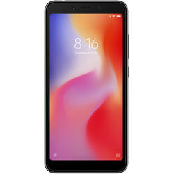 Redmi 6A, Dual SIM, 5.45'' IPS, Quad Core 2.0GHz, 2GB RAM, 16GB, 13MP, 4G, Black