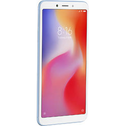 Redmi 6A, Dual SIM, 5.45'' IPS, Quad Core 2.0GHz, 2GB RAM, 32GB, 13MP, 4G, Blue