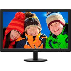 "273V5LHSB/01, 27"", Full HD, TN, 5 ms, HDMI, Negru"