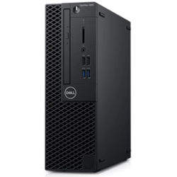 OptiPlex 3060 SFF, Core i3-8100 3.6GHz, 8GB DDR4, 256GB SSD, Intel UHD 630, Linux, Negru