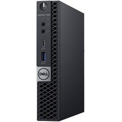 OptiPlex 7060 MFF, Core i7-8700T 2.4GHz, 8GB DDR4, 256GB SSD, Intel UHD 630, Win 10 Pro 64bit, Negru