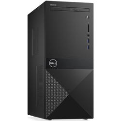 Vostro 3670 MT, Core i5-8400 2.8GHz, 8GB DDR4, 256GB SSD, Intel UHD 630, Win 10 Pro 64bit, Negru