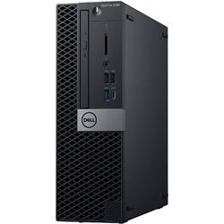 OptiPlex 5060 SFF, Core i5-8500 3.0GHz, 8GB DDR4, 128GB SSD, Intel UHD 630, Win 10 Pro 64bit, Negru