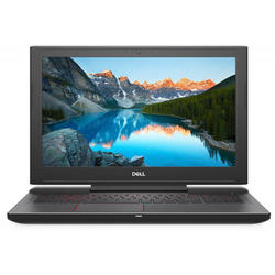 G5 15 5587, 15.6'' FHD, Core i7-8750H 2.2GHz, 8GB DDR4, 1TB HDD + 128GB SSD, GeForce GTX 1050 Ti 4GB, Linux, Negru