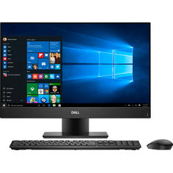 Inspiron 24 5477, 23.8'' FHD, Core i5-8400T 1.7GHz, 8GB DDR4, 1TB HDD + 128GB SSD, Intel UHD 630, Win 10 Home 64bit, Negru