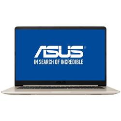"VivoBook S15 S510UF-BQ091, 15.6"" FHD, Core i7-8550U 1.8GHz, 8GB DDR4, 1TB HDD, GeForce MX130 2GB, Endless OS, Auriu"
