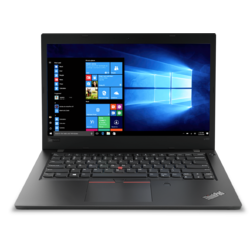 "ThinkPad L480, 14"" FHD, Core i5-8250U pana la 3.4GHz, 8GB DDR4, 256GB SSD, Intel UHD 620, Fingerprint Reader, Windows 10 Pro, Negru"