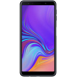 Galaxy A7 (2018), Dual SIM, 6.0'' Super AMOLED Multitouch, Octa Core 2.2GHz + 1.6GHz, 4GB RAM, 64GB, Triple 24MP + 5MP + 8MP, 4G, Black