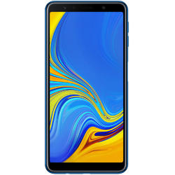 Galaxy A7 (2018), Dual SIM, 6.0'' Super AMOLED Multitouch, Octa Core 2.2GHz + 1.6GHz, 4GB RAM, 64GB, Triple 24MP + 5MP + 8MP, 4G, Blue